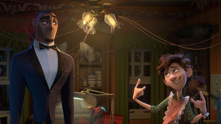 boom reviews Spies in Disguise