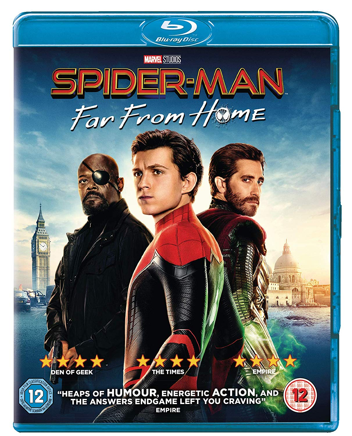 spider-man: far from home comp